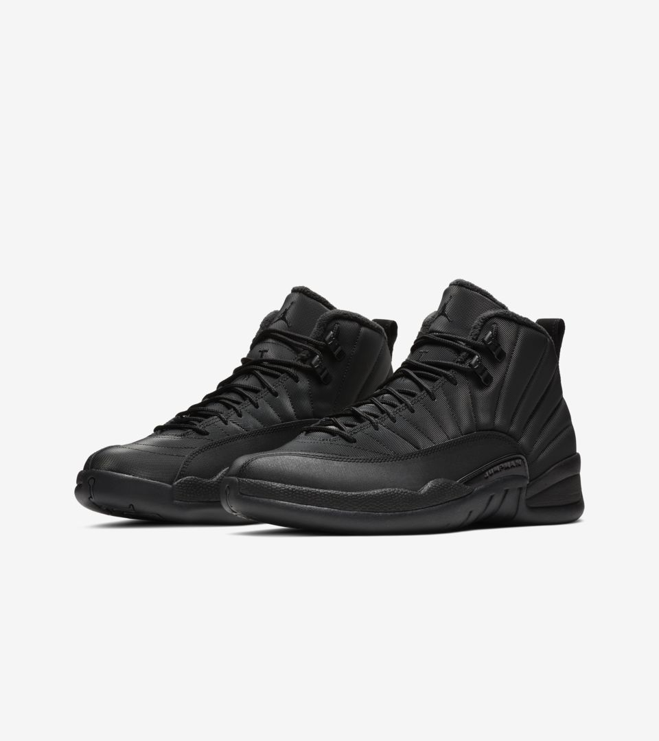 47c2cd3de25a Air Jordan XII (12) Retro Winter  Black   Anthracite  -Release Date   Saturday