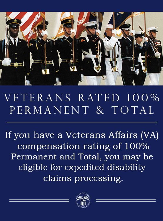 If you have a VA compensation rating of 100% P&T, you may be
