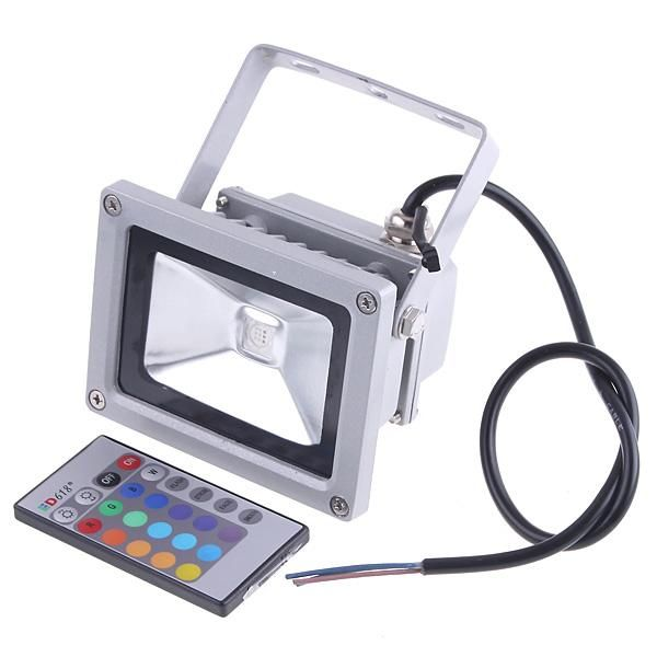 Remote Control 10w Rgb Led Flood Lights Ip65 Outdoor Usage