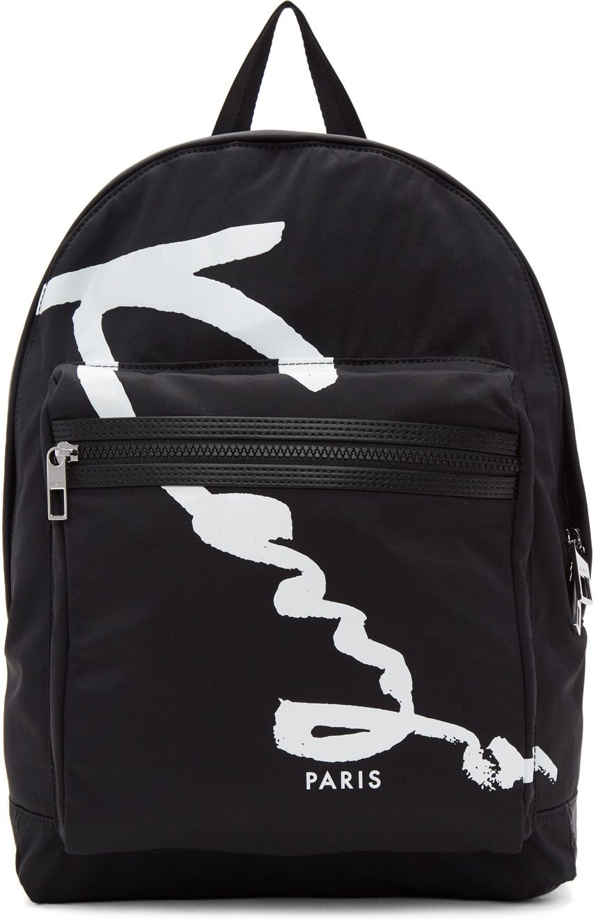 bd86923d10 KENZO .  kenzo  bags  leather  lining  polyester  nylon  backpacks ...