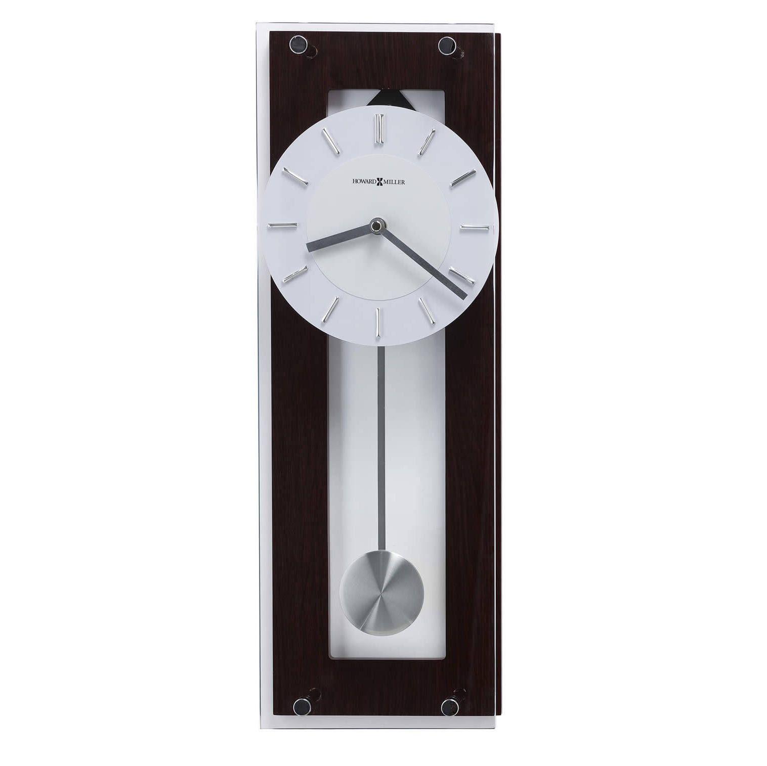 Modern Wall Clocks 625514 Howard Miller Contemporary Quartz Wall Clock Howard Miller Wall Clock Contemporary Wall Clock Wall Clock