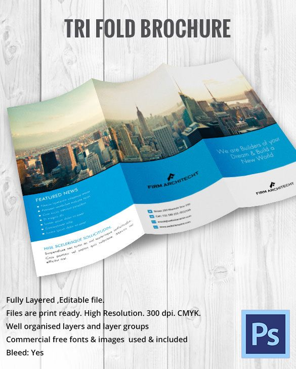 Contoh Desain Brosur Real Estate Brochure Pamphlet Designs - Professional brochure templates free