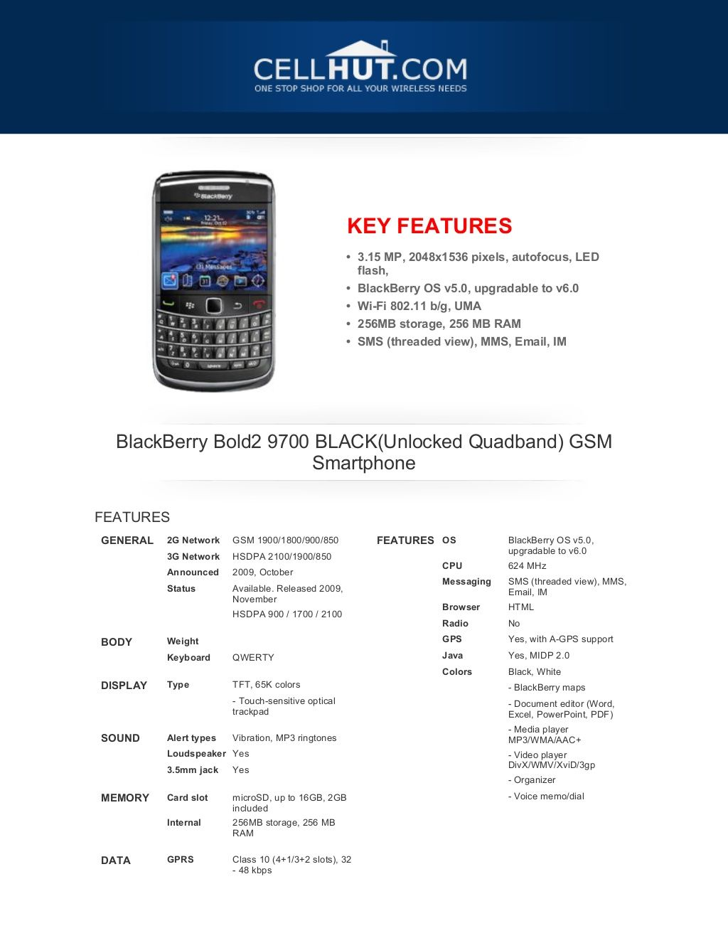 blackberry-bold2-9700-black-gsm-smartphonefeaturesspecificationat