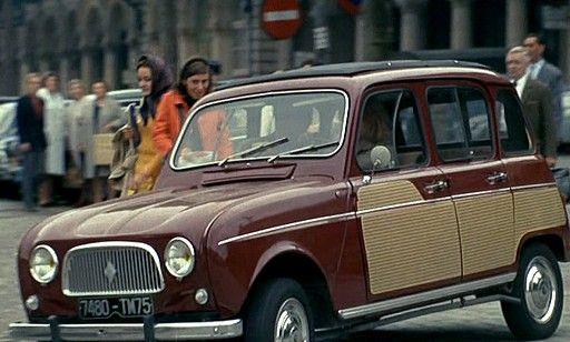 une 4l parisienne en action dans les rues de paris voitures 60 39 s renault voiture et. Black Bedroom Furniture Sets. Home Design Ideas