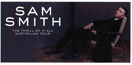 1 X Sam Smith Melbourne Concert Ticket Tues  Au 170 00 End Date Wednesday Oct  Est Buy It Now For Only Au
