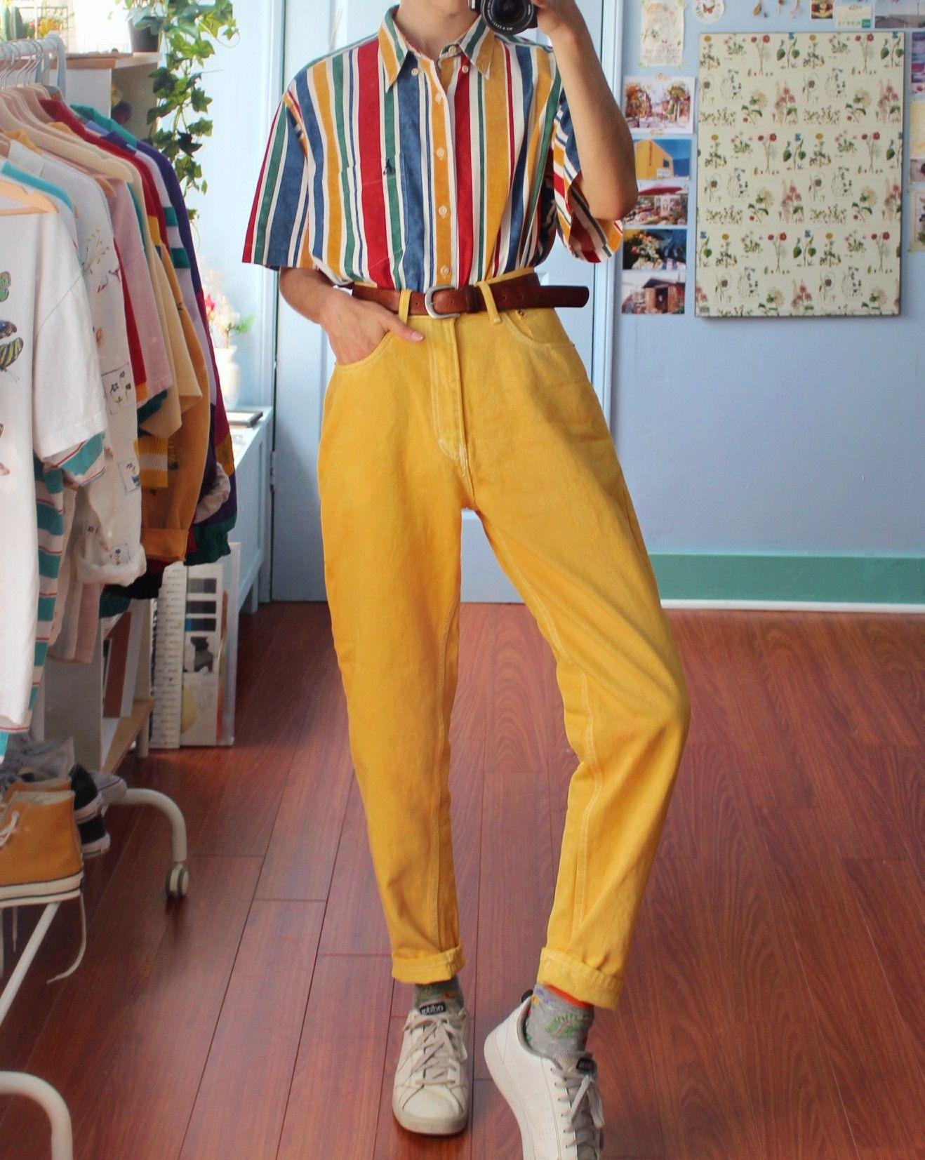 Crisheeta Retro Outfits Aesthetic Clothes Clothes