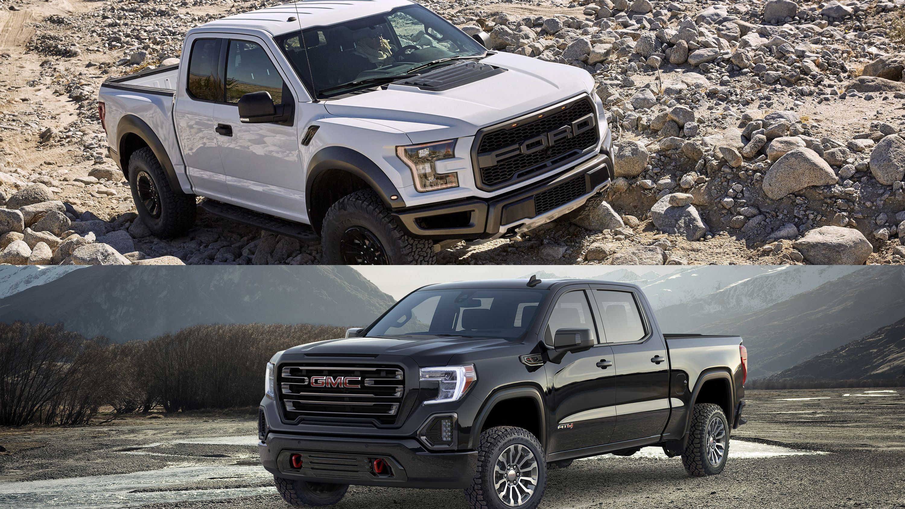 Comparison Is The Gmc Sierra At4 A Solid Alternative To The Ford