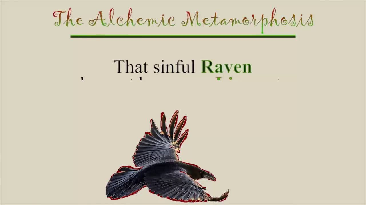 The Alchemic Metamorphosi A Poem With Context Raven