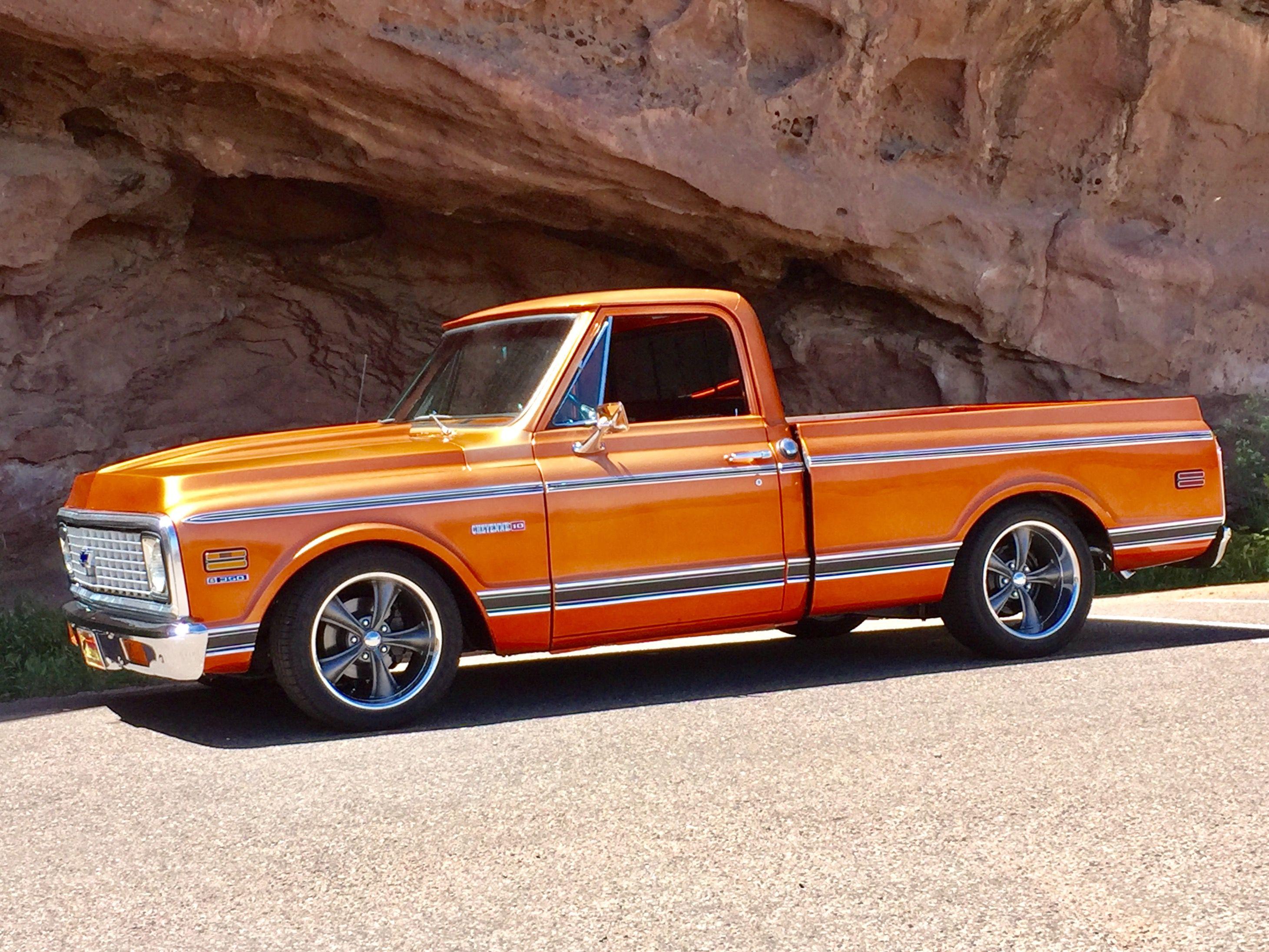 71 C10 LS Classic chevy trucks, Chevy trucks, Chevy c10