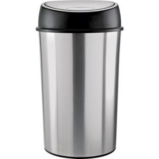 Addis Touch Top 50 Litre Bin Black This From Is An Essential Addition To Any Family Kitchen Measuring 39 X 64 5 Cm