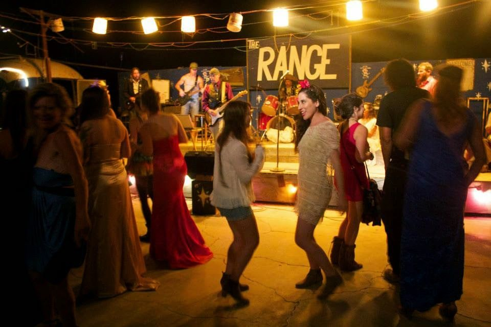 The Range, Slab City friends Dancing in the middle of the desert bohemian  http://stylefuel.blogspot.com/