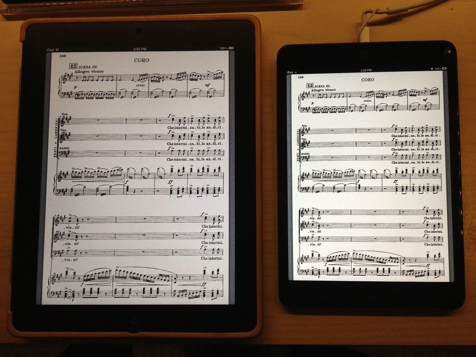 Loren Finkelstein On Twitter Ipad Mini Sheet Music Ipad Sheet music reading app for ipad