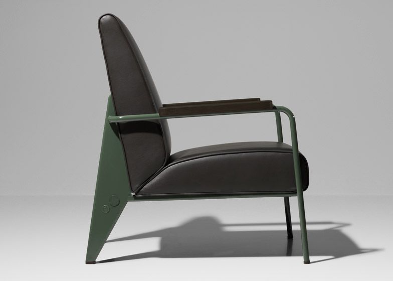 G-Star RAW and Vitra join forces to re-launch Jean Prouvé's 1940s office furniture,