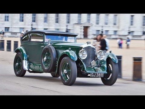 ▶ Blue Train Bentley Speed Six wins England's St. James's Concours of Elegance - YouTube