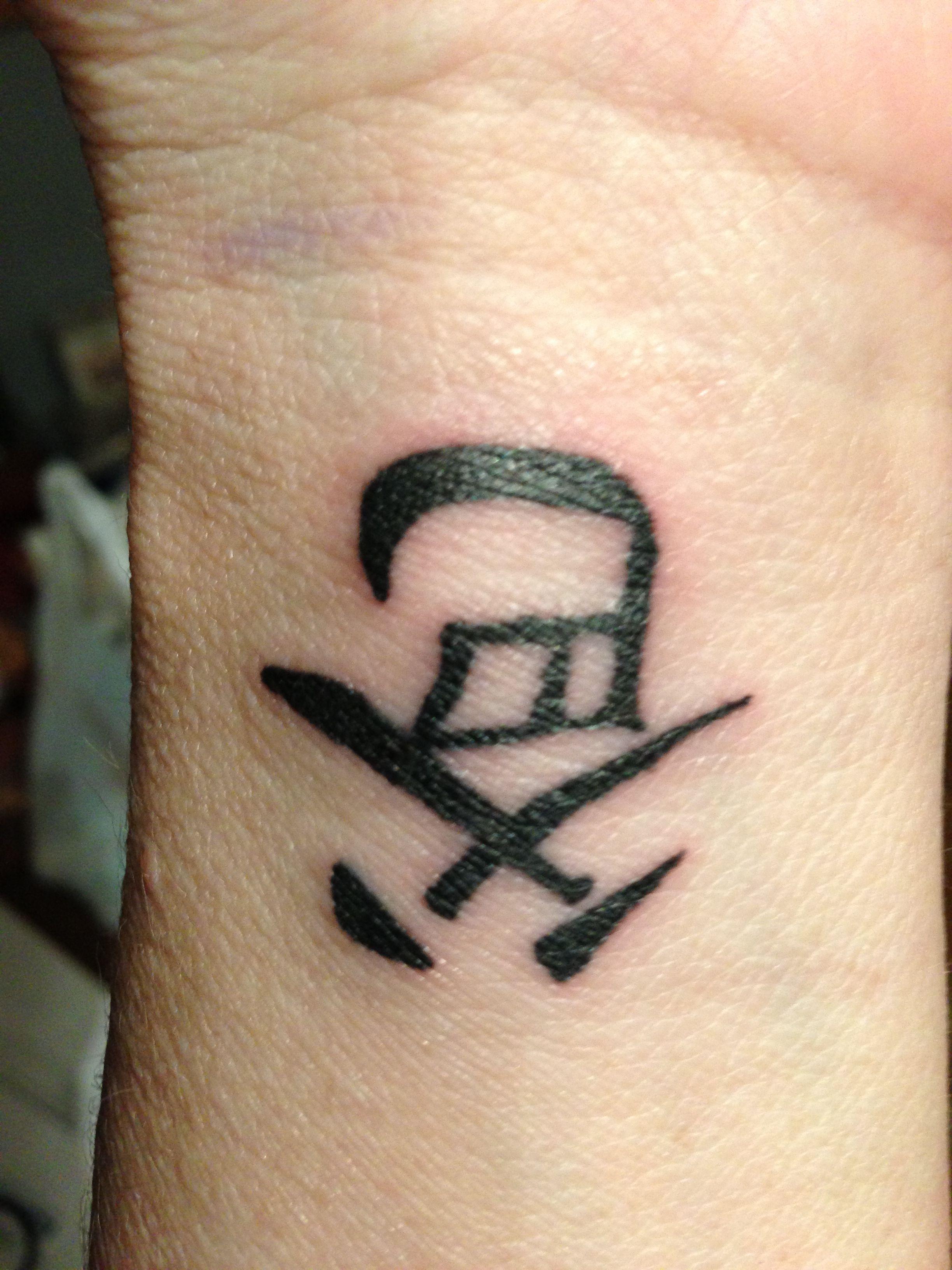 My New Tattoo Means Dad In Chinese Karya Seni 3d Seni 3d Karya Seni