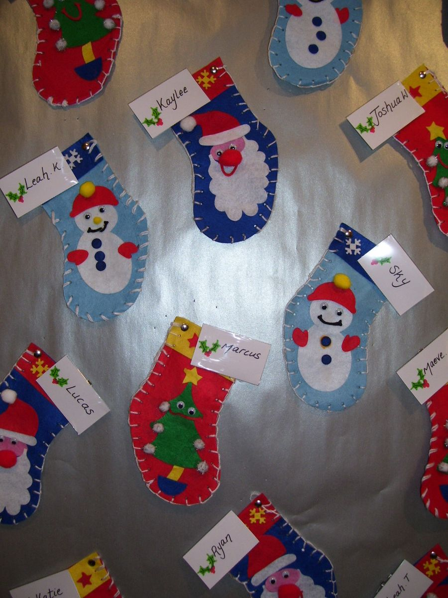 Ordinary Elementary Christmas Craft Ideas Part - 6: Pendeen-school-christmas-work-011