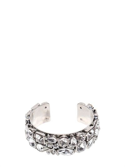 DSQUARED2 - CRYSTALS BRACELET - LUISAVIAROMA - LUXURY SHOPPING WORLDWIDE SHIPPING - FLORENCE