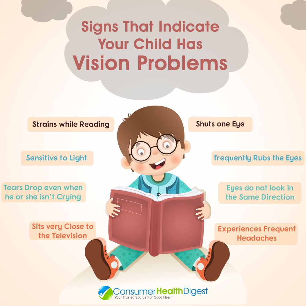 8 Signs That Indicate Your Child Has Vision Problems Vision