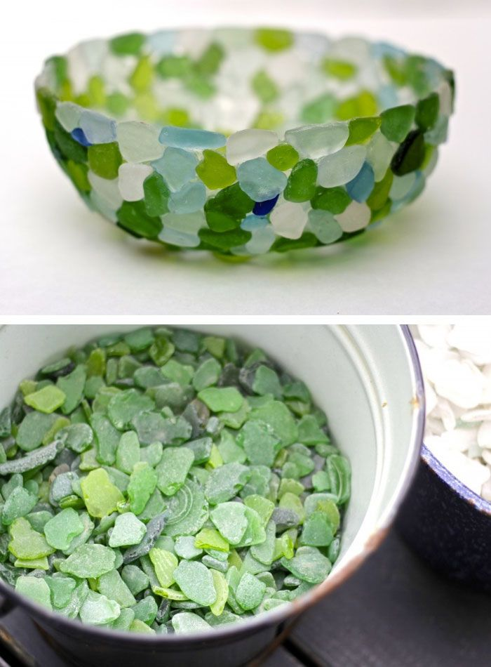 Nautical Decor Ideas, Home Decor Ideas, Glass Bowls, Sea Glass, Beach  House, For The Home, Budget, Shells, Bathrooms