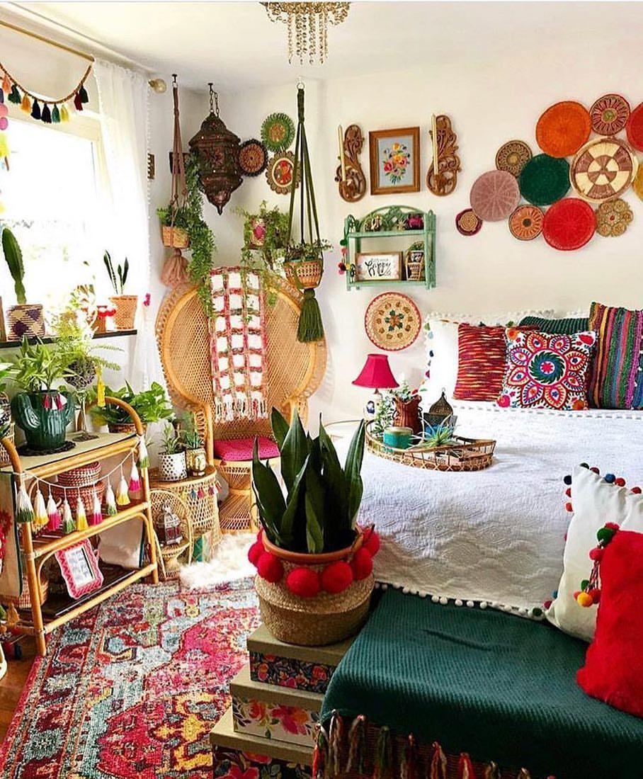 6 likes 1 comments bohemian decor bohemiandecor on instagram psychedelic room via on boho chic decor living room bohemian kitchen id=93987