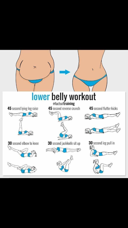 Fitness Inspiration: Unterbauch Workout loswerden ...  #Übungsplan  Fitness Ins... - #Fitness #ins #...