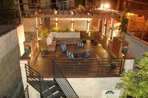 House In Chicago Il 60622 4 Beds 3 5 Baths Rooftop Terrace Design Rooftop Design Rooftop Patio