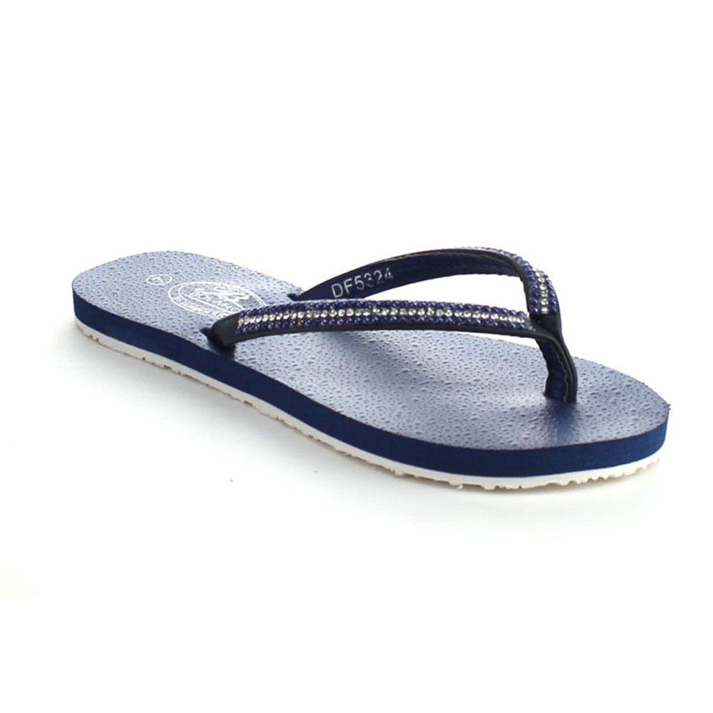 RIO Bolaro Df5324 Women's Open Toe Chic Flat Flip Flop Sandals