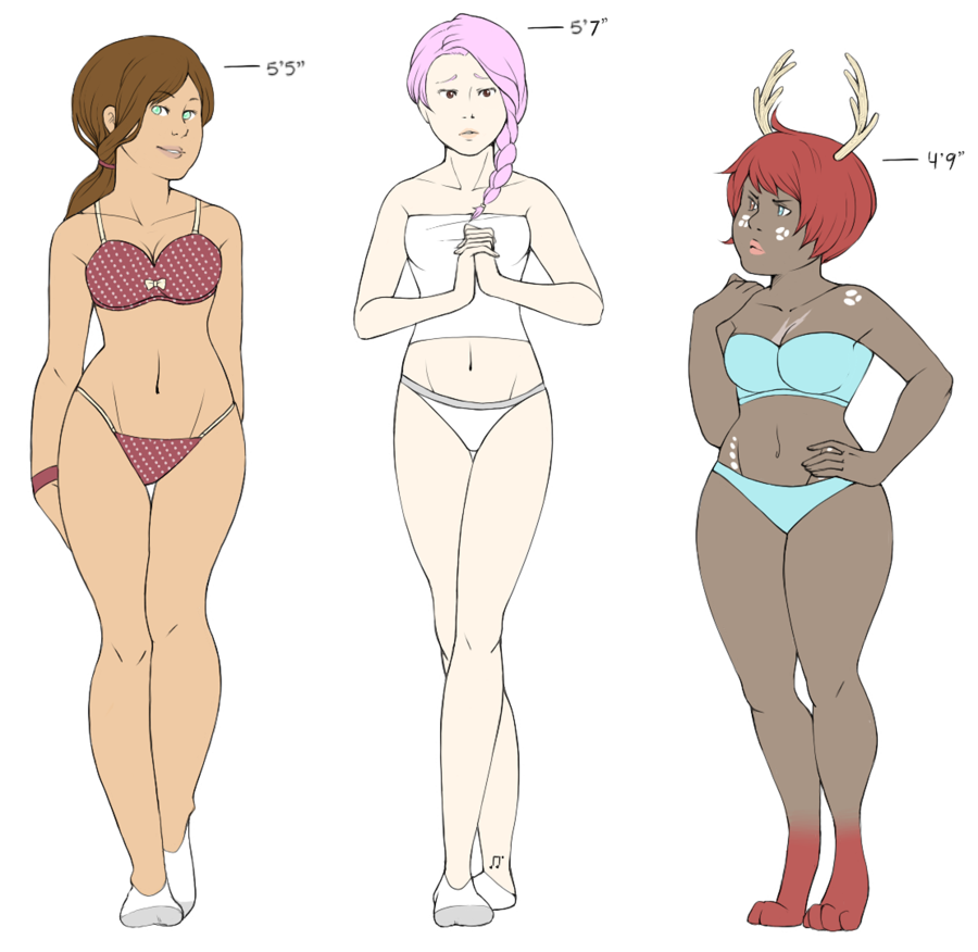 Body Type Study By Taloheart D4ht5se Png 900 876 Cartoon Girl Drawing Deviantart Drawings Body Shape Drawing