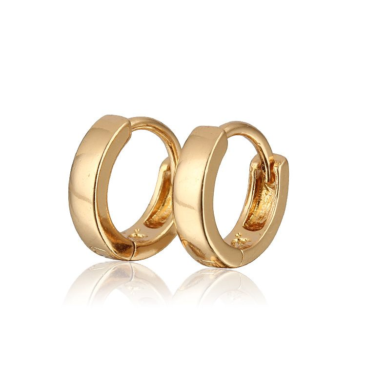 Aliexpress Sale Gold Plated Hoop Earrings For Girls/Children ...