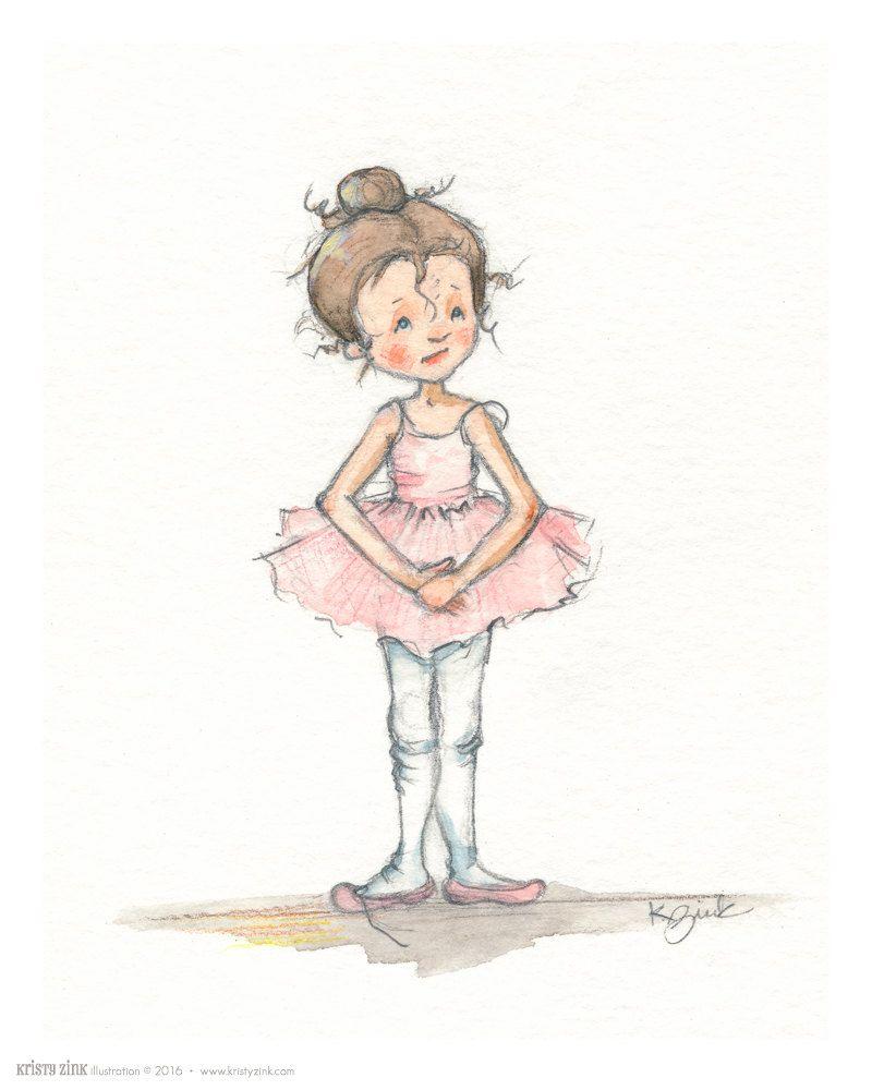 Милые картинки для срисовки девочки балерины крутые
