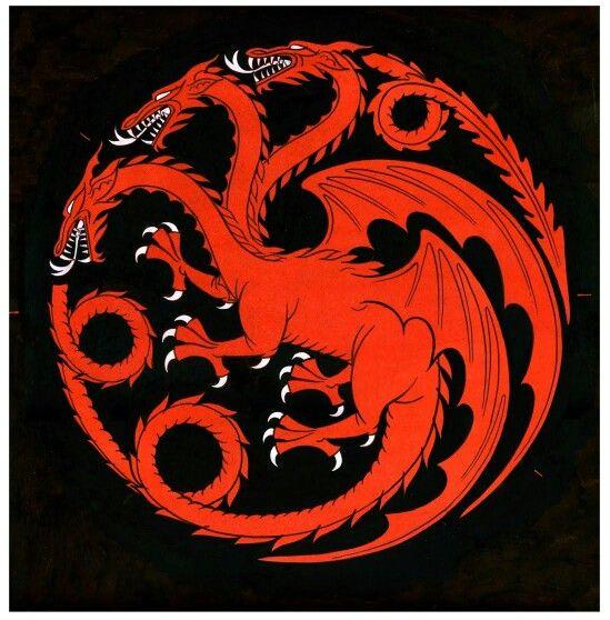 Targaryen seal Game of thrones tattoo, Game of thrones
