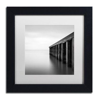 "Trademark Art ""Rust Never Sleeps"" by Dave MacVicar Framed Photographic Print Size: 11"" H x 11"" W x 0.5"" D"