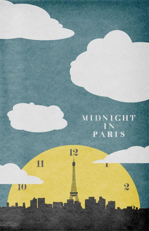 midnight in paris quizás lo más romántico del mundo. @Laura Guillén Borragán