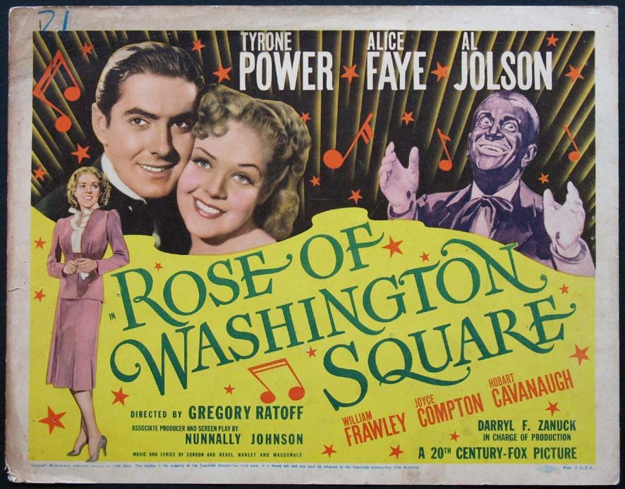 Watch Rose of Washington Square Full-Movie Streaming
