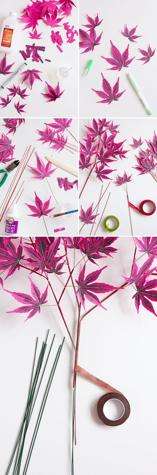 DIY Japanese Maple tree #japanesemaple