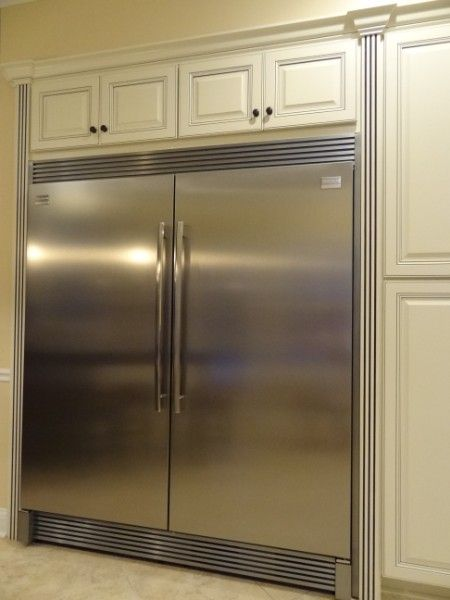 frigidaire professional stainless steel refrigerator freezer combo with trim kit french door manual cu ft all air