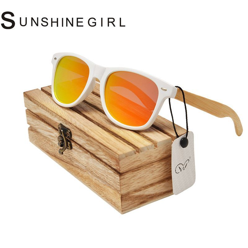 NativeShades Hand Crafted Wooden/bamboo Sunglasses Women