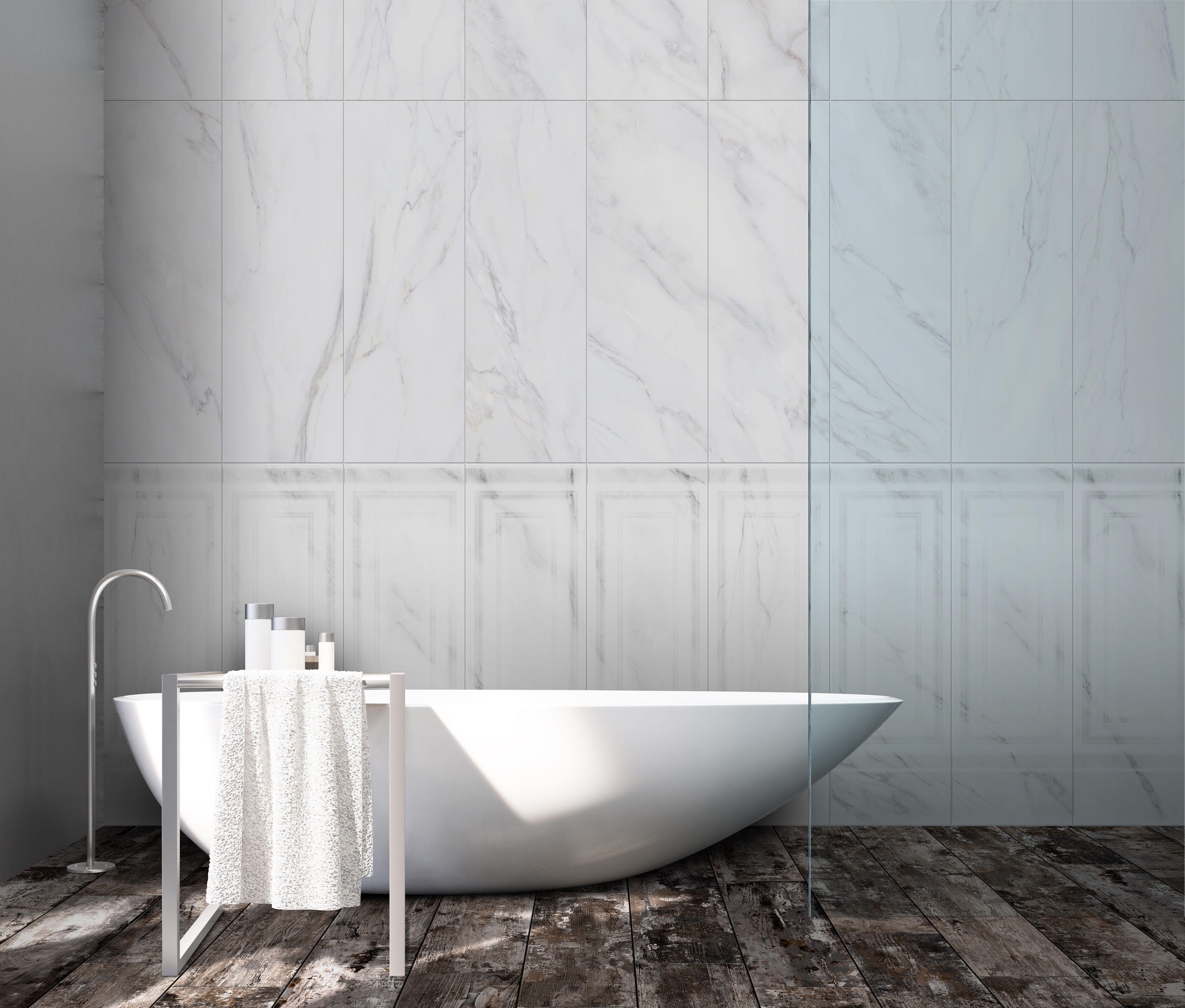 Bathroom Tile Ideas | CALACATTA | Wall & Floor & Glazed Porcelain ...