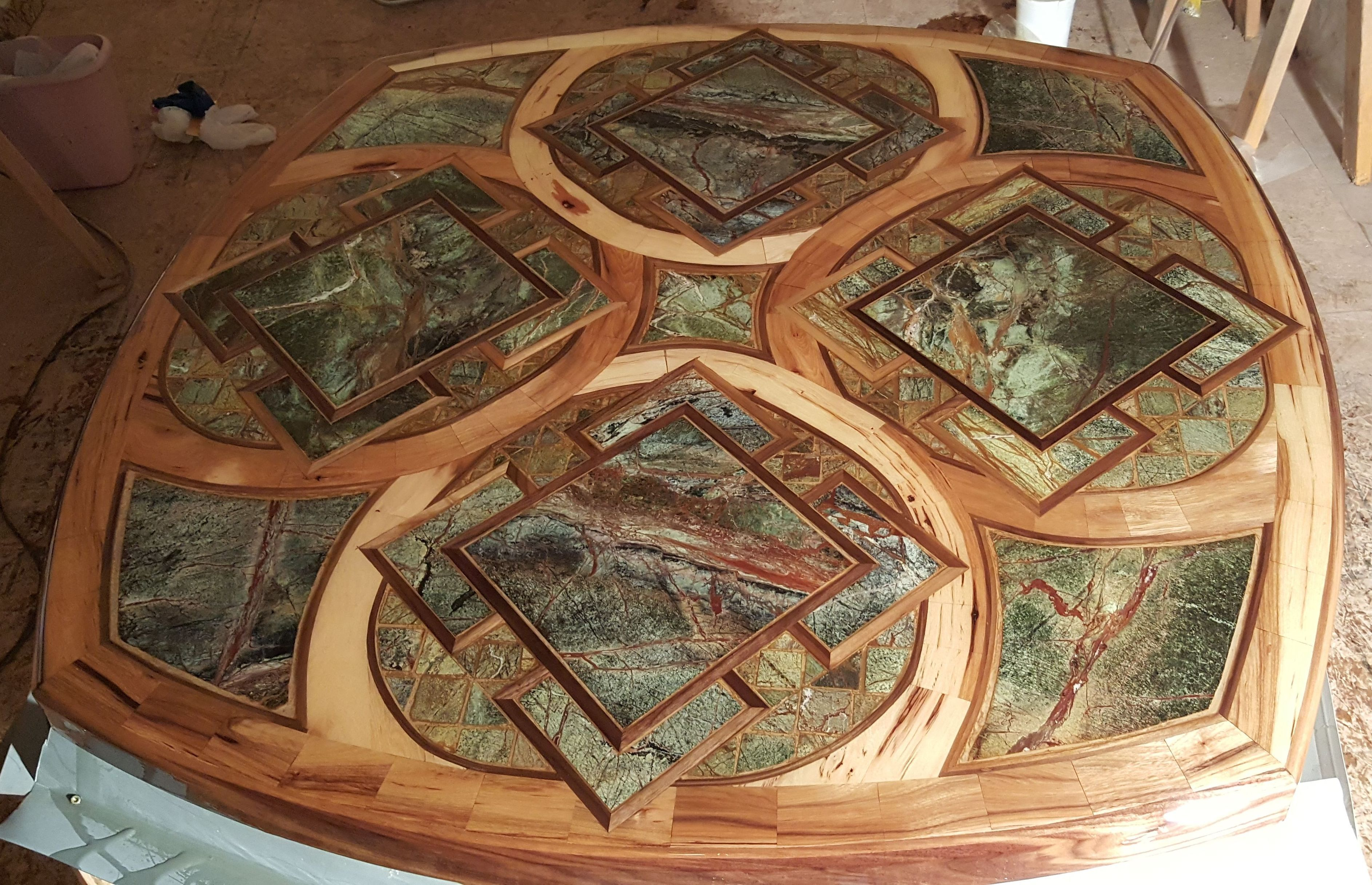 Inlayed table top 1 epoxy resin coatings casting mold