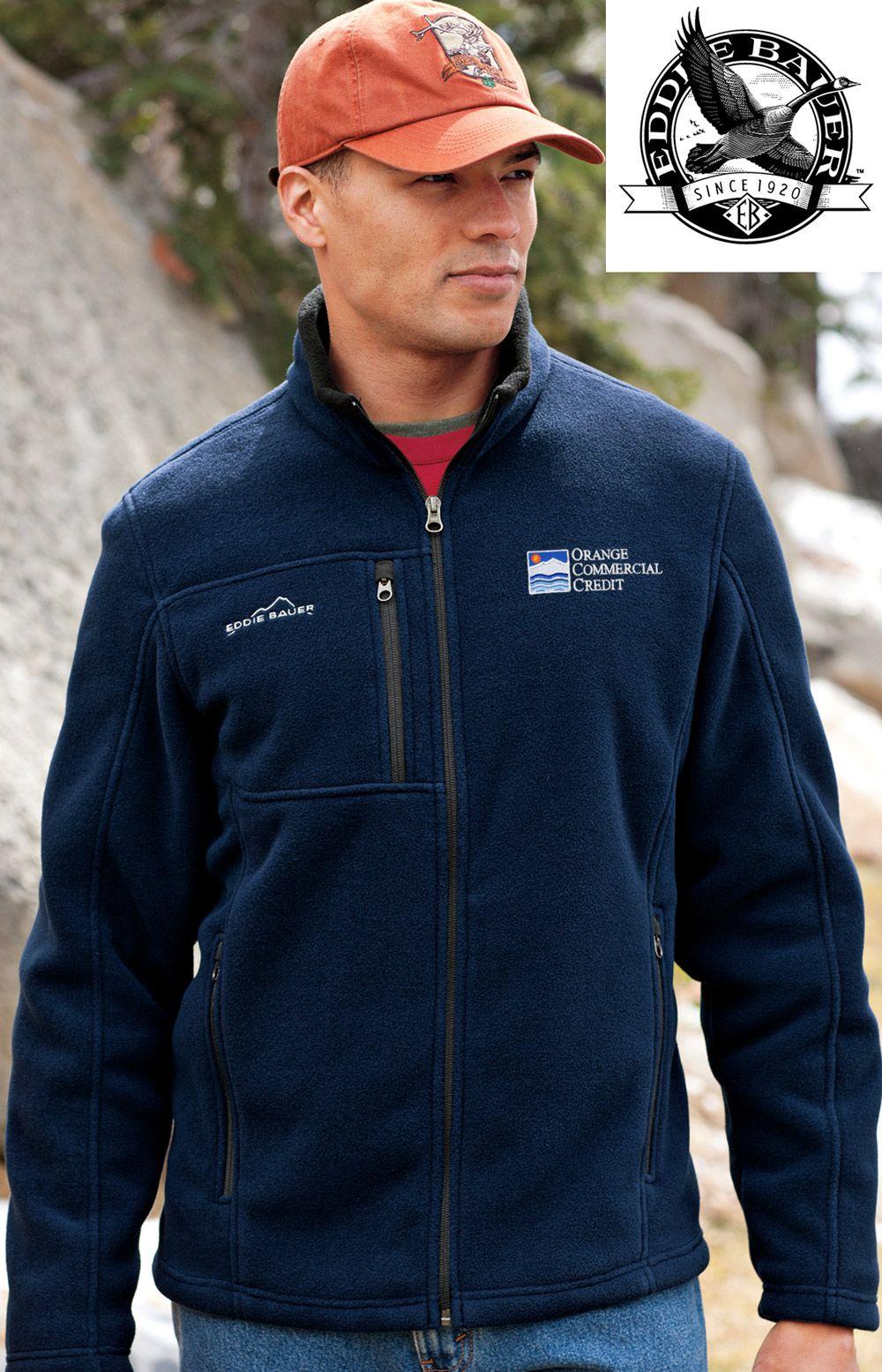 EddieBauer #Mens #Full-Zip #Fleece #Jacket #corporate #custom ...