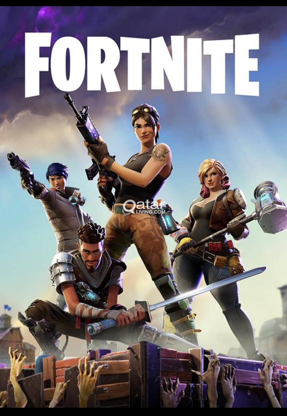 Fortnite Game Poster Culture Posters Fortnite Epic Games Birthday Card Printable