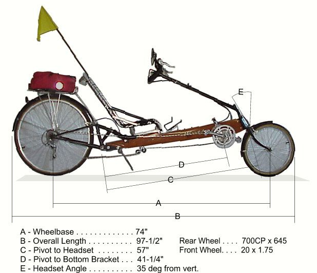 Resultado De Imagem Para Easy Recumbent Bike Plan Imagens
