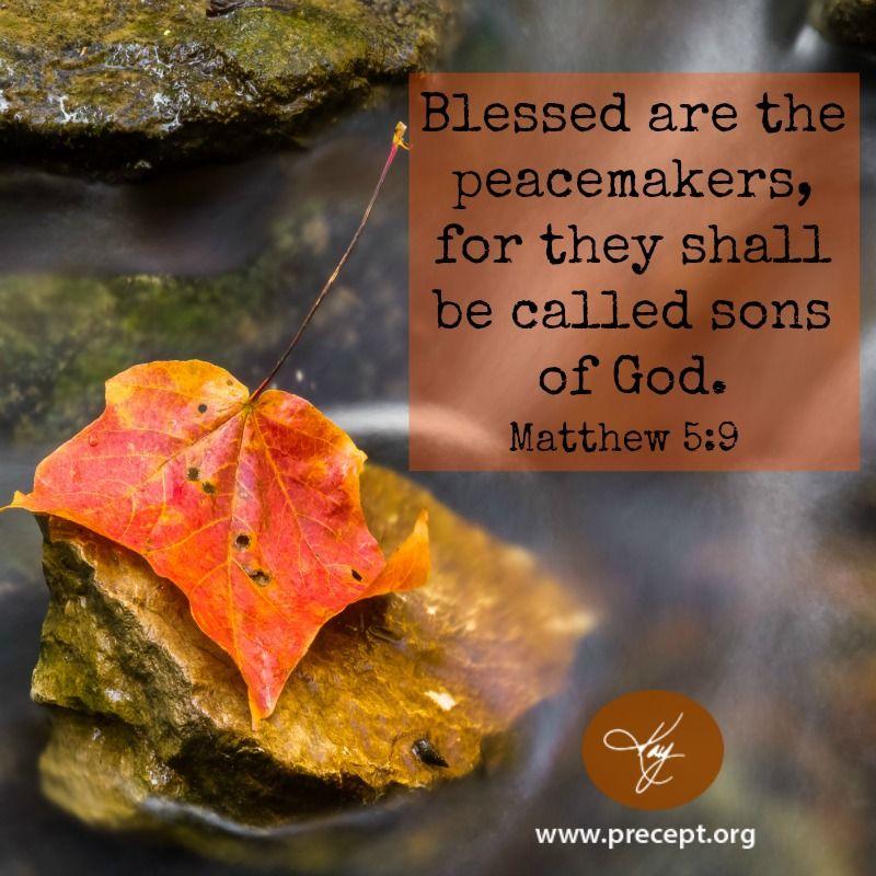 Matthew 5:9