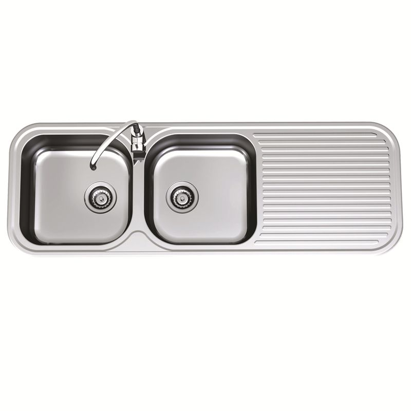 Sink Advance Clark 1380mm D/endbwl 1thlhb 3501.1l I/N 5111137 ...