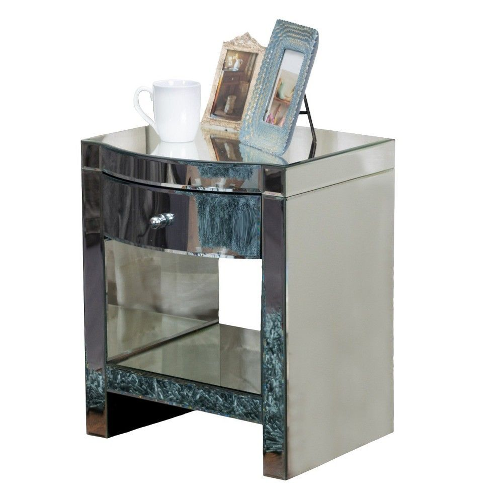 Nightstand Silver - Christopher Knight Home