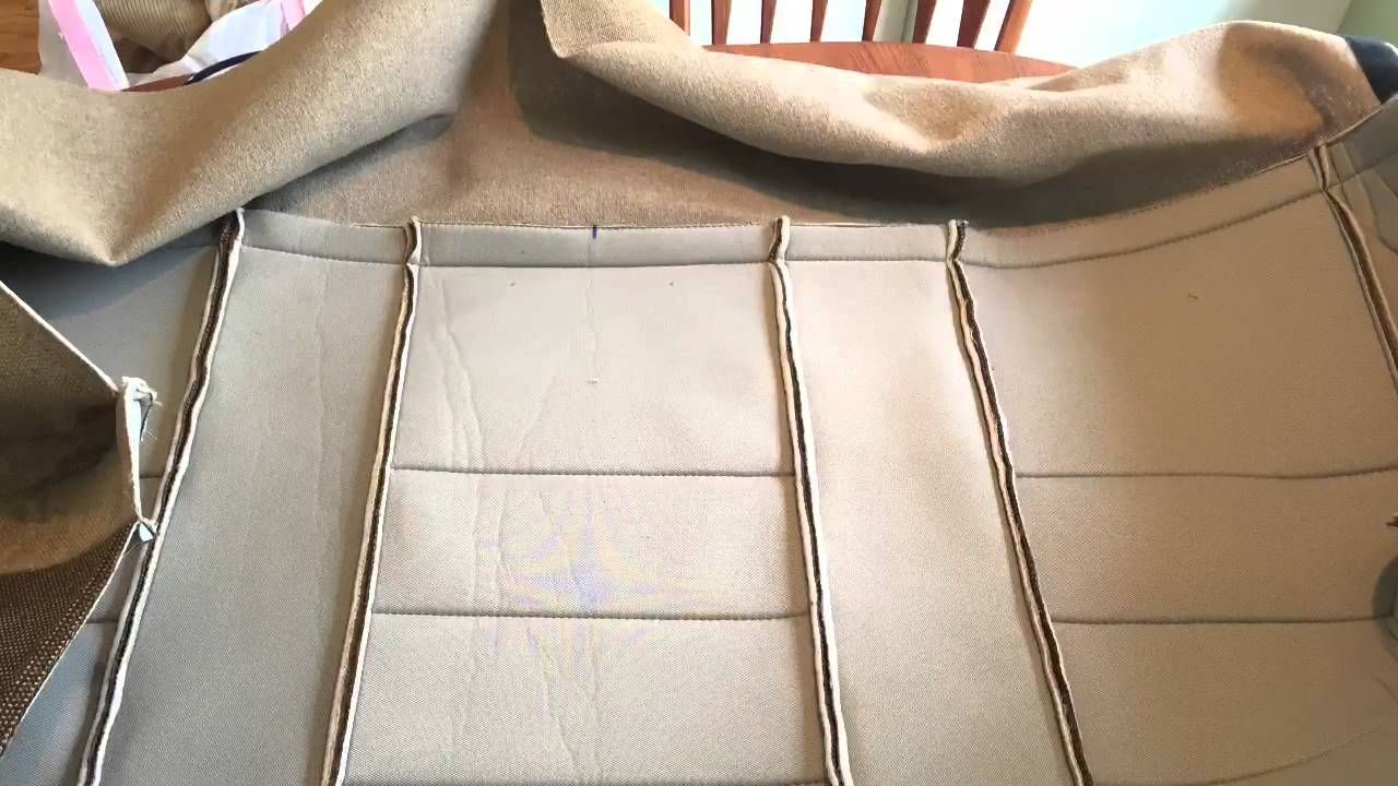 How to remove and reupholster the rear bench and jump seat