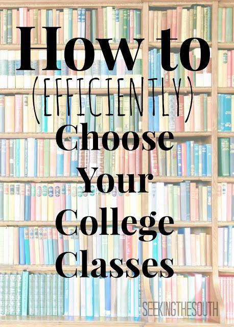 how to get ready for college classes
