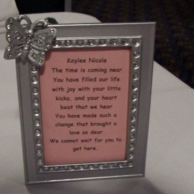Butterfly Theme Baby Showerwedding Frame Favor Baby Shower Ideas