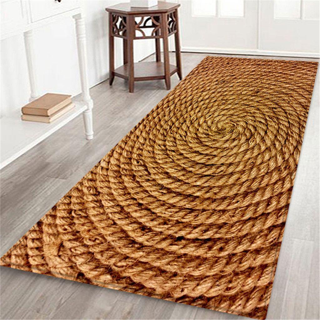 60x180 Cm Carpet Hallway Doormat Anti Slip Carpet Absorb Water