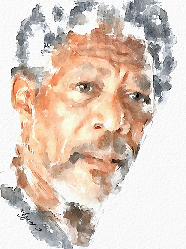 35 Fabulous Celebrity Portrait Watercolor Paintings With Images